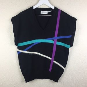 Vintage Doleman Lightweight Geometric Sweater